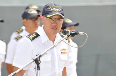 日星(シンガポール海軍)親善訓練 入港歓迎行事No6