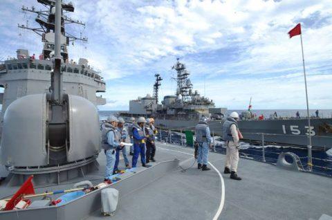 防衛省海上自衛隊 海賊対処水上部隊(24次隊)26ゆうだち・ゆうぎりNo2