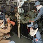 防衛省海上自衛隊 海賊対処水上部隊(24次隊)26ゆうだち・ゆうぎり