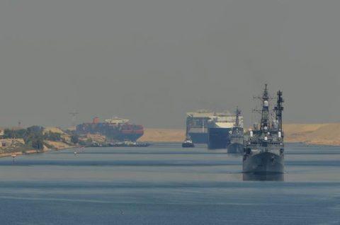 2016 海上自衛隊 練習艦隊 遠洋航海21かしま・あさぎり・せとゆきNo3