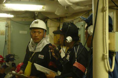 2016 海上自衛隊 練習艦隊 遠洋航海21かしま・あさぎり・せとゆきNo7