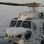 海自 海賊対処行動水上部隊(25次隊)15すずつき SH-60K
