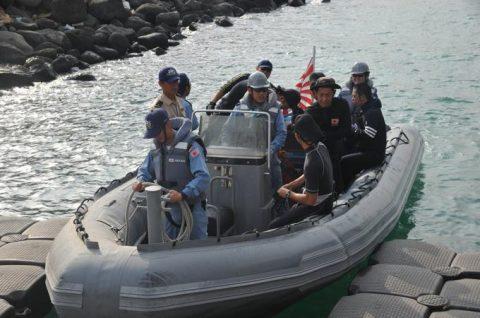 海自 海賊対処行動水上部隊(25次隊)15すずつき SH-60KNo2