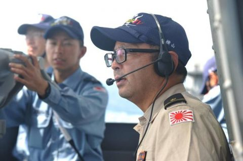 海自 海賊対処行動水上部隊(25次隊)15すずつき SH-60KNo4