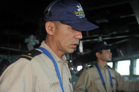 海自 海賊対処行動水上部隊(25次隊)15すずつき SH-60KNo5