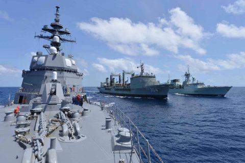 オーストラリア海軍主催多国間海上共同訓練カカドゥ16ふゆづき記録No03