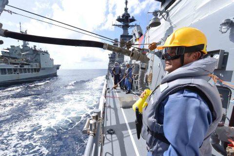 オーストラリア海軍主催多国間海上共同訓練カカドゥ16ふゆづき記録No05