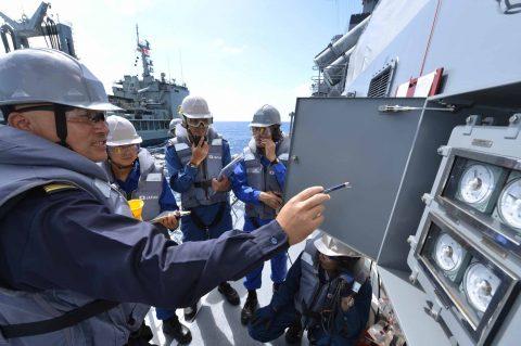 オーストラリア海軍主催多国間海上共同訓練カカドゥ16ふゆづき記録No06