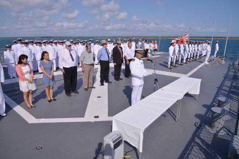 オーストラリア海軍主催多国間海上共同訓練カカドゥ16ふゆづき記録No08