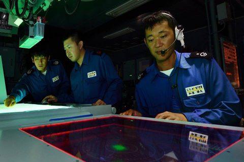 海上自衛隊 砕氷艦しらせ 境港市の一般公開 写真(南極観測船)7