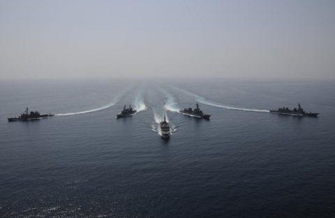 派遣海賊対処行動水上部隊(25次隊)16と練習艦隊の記録22No02