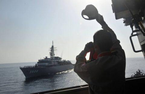 派遣海賊対処行動水上部隊(25次隊)16と練習艦隊の記録22No09
