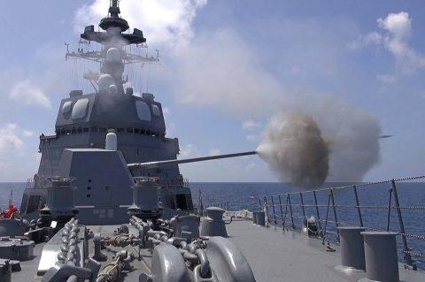 オーストラリア 豪州カカドゥ16 海軍主催 共同訓練ふゆづき記録No01