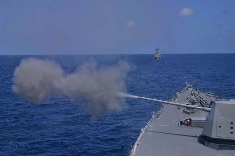 オーストラリア 豪州カカドゥ16 海軍主催 共同訓練ふゆづき記録No02
