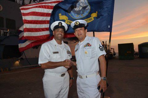 オーストラリア 豪州カカドゥ16 海軍主催 共同訓練ふゆづき記録No07