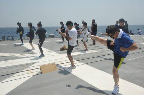 海上自衛隊 海賊対処行動水上部隊(25次隊)13すずつき&いなづまNo1