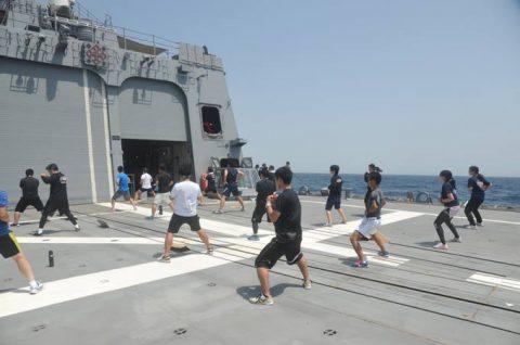 海上自衛隊 海賊対処行動水上部隊(25次隊)13すずつき&いなづまNo2