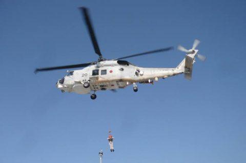 海上自衛隊 海賊対処法 水上部隊(25次隊)13 医療支援要請2No2