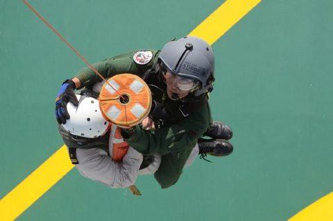 海上自衛隊 海賊対処法 水上部隊(25次隊)13 医療支援要請2No3