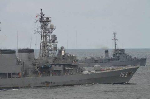 海賊対処水上部隊(24次隊)27フィリピン(マニラ)に入港No3