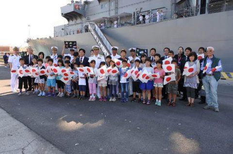 2016年幹部候補生 練習艦隊 遠洋航海19コロッセオ、トレビの泉No02