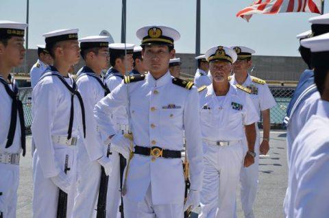 2016年幹部候補生 練習艦隊 遠洋航海19コロッセオ、トレビの泉No03