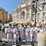 2016年幹部候補生 練習艦隊 遠洋航海19コロッセオ、トレビの泉
