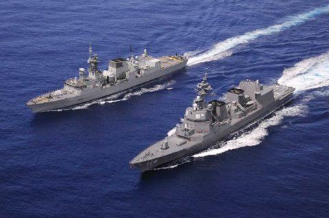 防衛省 海上自衛隊 豪州海軍主催多国間海上共同訓練(カカドゥ16)No05