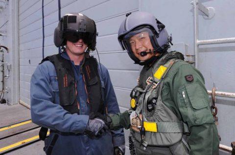防衛省 海上自衛隊 豪州海軍主催多国間海上共同訓練(カカドゥ16)No09