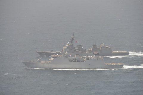 海上自衛隊 海賊対処行動水上部隊(25次隊)14すずつき 蘭海軍No03