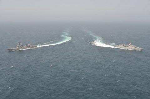 海上自衛隊 海賊対処行動水上部隊(25次隊)14すずつき 蘭海軍No04