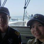 海上自衛隊 海賊対処行動水上部隊(25次隊)14すずつき 蘭海軍