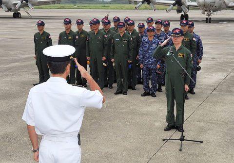 豪州海軍主催多国間海上共同訓練(カカドゥ16)P-3C鹿屋航空基地No1