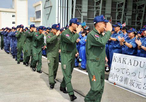 豪州海軍主催多国間海上共同訓練(カカドゥ16)P-3C鹿屋航空基地No3