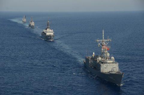 2016 海上自衛隊 練習艦隊 遠洋航海20 トルコ海軍親善訓練No3