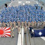 派遣海賊対処行動水上部隊(24次隊)31ゆうだち帰国行事の様子