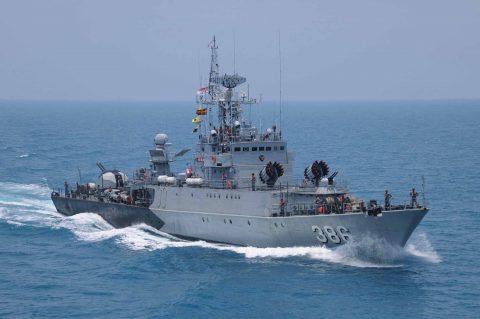 カカドゥ16 豪州海軍主催多国間海上共同訓練インドネシア海軍親善訓練No03