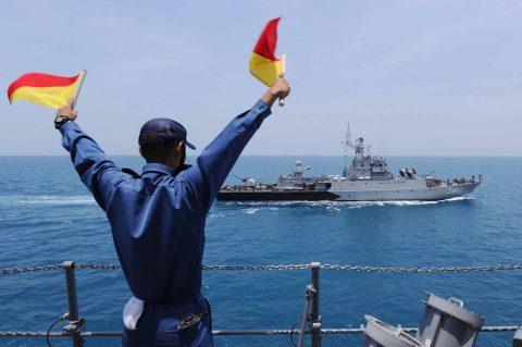 カカドゥ16 豪州海軍主催多国間海上共同訓練インドネシア海軍親善訓練No04