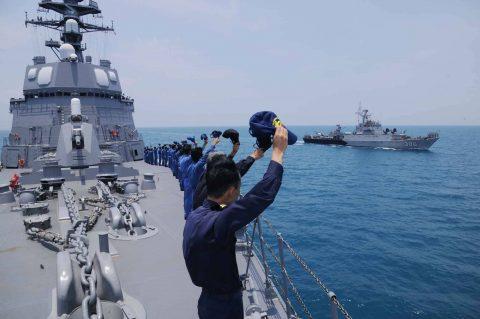 カカドゥ16 豪州海軍主催多国間海上共同訓練インドネシア海軍親善訓練No05