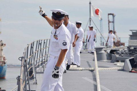 カカドゥ16 豪州海軍主催多国間海上共同訓練インドネシア海軍親善訓練No06