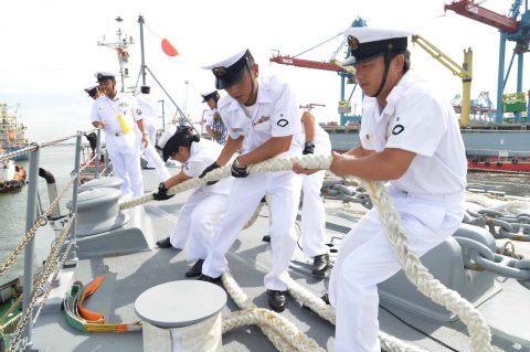 カカドゥ16 豪州海軍主催多国間海上共同訓練インドネシア海軍親善訓練No07