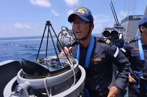 カカドゥ16 豪州海軍主催多国間海上共同訓練インドネシア海軍親善訓練No08