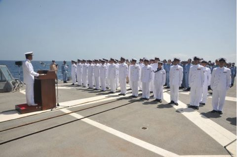 防衛省 自衛隊ソマリア・ジプチ 海賊対処水上部隊(25次隊)17No2