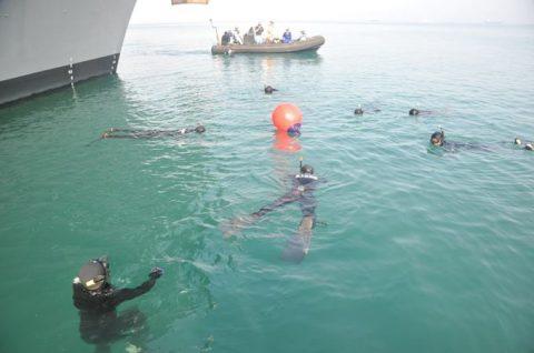 防衛省 自衛隊ソマリア・ジプチ 海賊対処水上部隊(25次隊)17No4