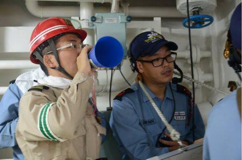 防衛省 自衛隊ソマリア・ジプチ 海賊対処水上部隊(25次隊)17No5