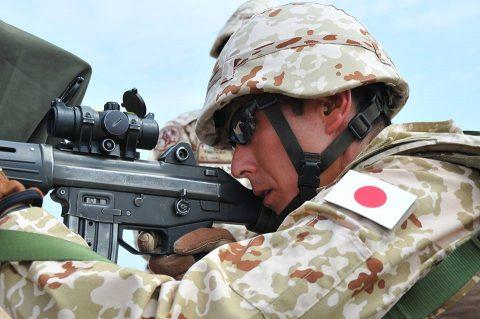防衛省海上自衛隊 6次派遣海賊対処行動支援隊の記録4 射撃訓練No2