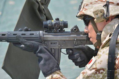 防衛省海上自衛隊 6次派遣海賊対処行動支援隊の記録4 射撃訓練No3