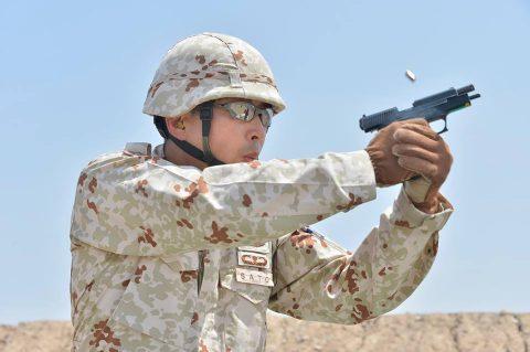 防衛省海上自衛隊 6次派遣海賊対処行動支援隊の記録4 射撃訓練No4