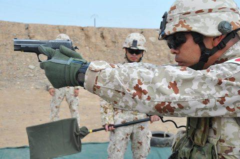 防衛省海上自衛隊 6次派遣海賊対処行動支援隊の記録4 射撃訓練No5