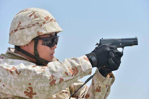 防衛省海上自衛隊 6次派遣海賊対処行動支援隊の記録4 射撃訓練No6